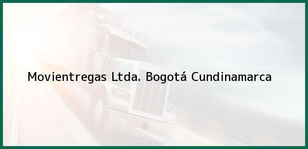 Teléfono, Dirección y otros datos de contacto para Movientregas Ltda., Bogotá, Cundinamarca, Colombia