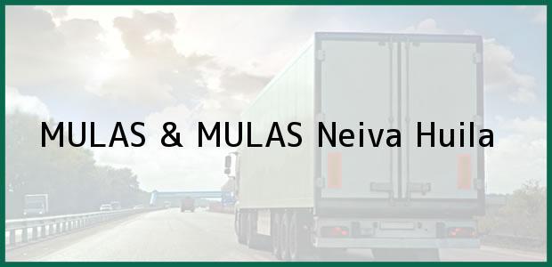 Teléfono, Dirección y otros datos de contacto para MULAS & MULAS, Neiva, Huila, Colombia