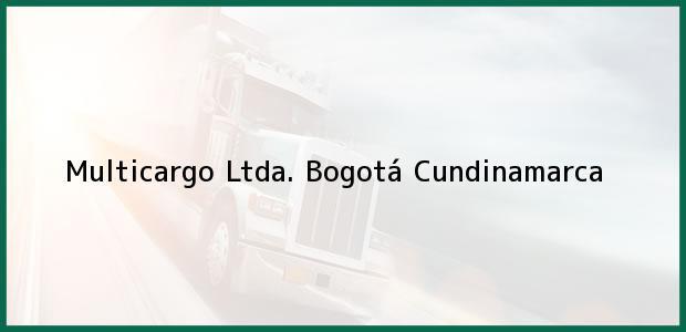 Teléfono, Dirección y otros datos de contacto para Multicargo Ltda., Bogotá, Cundinamarca, Colombia