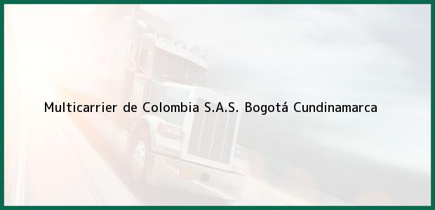 Teléfono, Dirección y otros datos de contacto para Multicarrier de Colombia S.A.S., Bogotá, Cundinamarca, Colombia