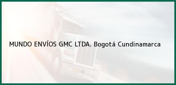Teléfono, Dirección y otros datos de contacto para MUNDO ENVÍOS GMC LTDA., Bogotá, Cundinamarca, Colombia