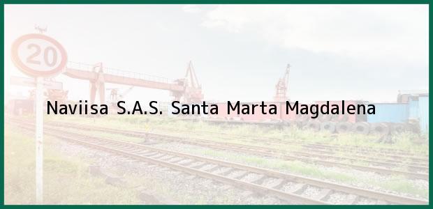 Teléfono, Dirección y otros datos de contacto para Naviisa S.A.S., Santa Marta, Magdalena, Colombia