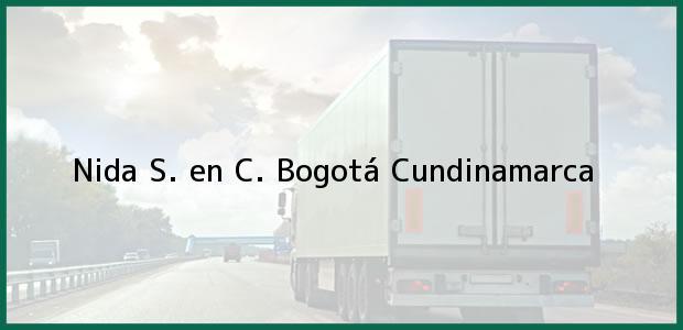 Teléfono, Dirección y otros datos de contacto para Nida S. en C., Bogotá, Cundinamarca, Colombia