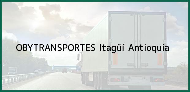 Teléfono, Dirección y otros datos de contacto para OBYTRANSPORTES, Itagüí, Antioquia, Colombia
