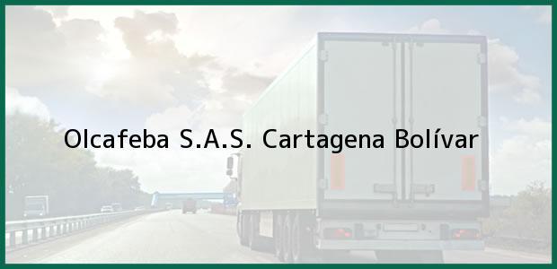 Teléfono, Dirección y otros datos de contacto para Olcafeba S.A.S., Cartagena, Bolívar, Colombia