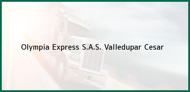 Teléfono, Dirección y otros datos de contacto para Olympia Express S.A.S., Valledupar, Cesar, Colombia