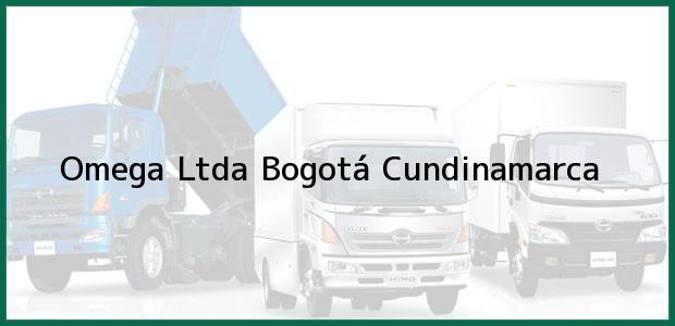 Teléfono, Dirección y otros datos de contacto para Omega Ltda, Bogotá, Cundinamarca, Colombia