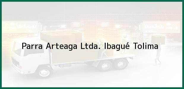 Teléfono, Dirección y otros datos de contacto para Parra Arteaga Ltda., Ibagué, Tolima, Colombia