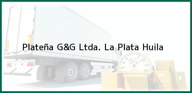 Teléfono, Dirección y otros datos de contacto para Plateña G&G Ltda., La Plata, Huila, Colombia