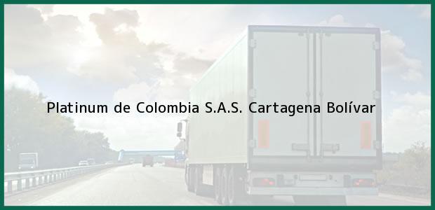 Teléfono, Dirección y otros datos de contacto para Platinum de Colombia S.A.S., Cartagena, Bolívar, Colombia