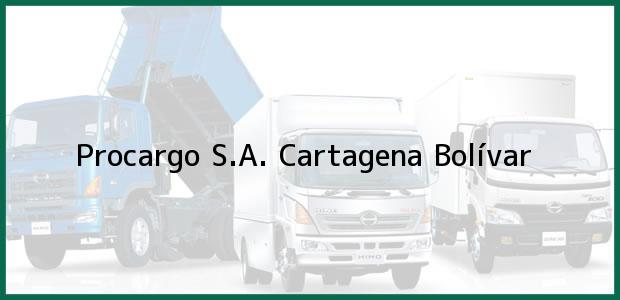 Teléfono, Dirección y otros datos de contacto para Procargo S.A., Cartagena, Bolívar, Colombia