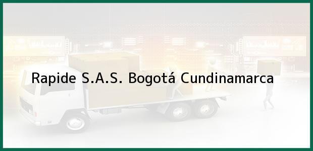 Teléfono, Dirección y otros datos de contacto para Rapide S.A.S., Bogotá, Cundinamarca, Colombia