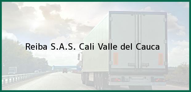 Teléfono, Dirección y otros datos de contacto para Reiba S.A.S., Cali, Valle del Cauca, Colombia