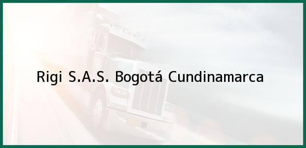 Teléfono, Dirección y otros datos de contacto para Rigi S.A.S., Bogotá, Cundinamarca, Colombia