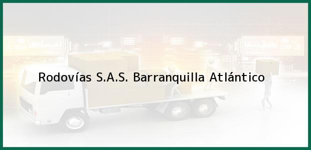 Teléfono, Dirección y otros datos de contacto para Rodovías S.A.S., Barranquilla, Atlántico, Colombia