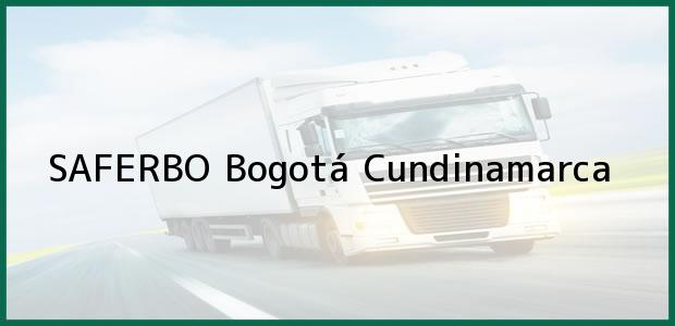 Teléfono, Dirección y otros datos de contacto para SAFERBO, Bogotá, Cundinamarca, Colombia
