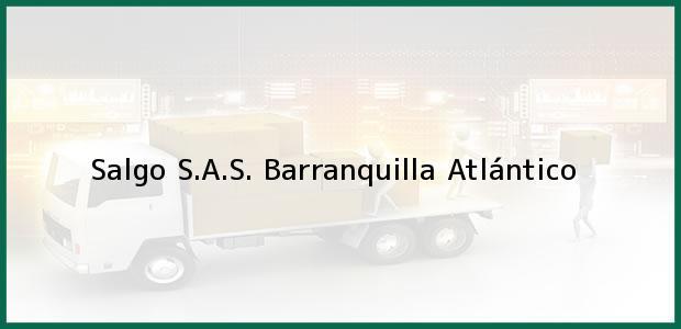 Teléfono, Dirección y otros datos de contacto para Salgo S.A.S., Barranquilla, Atlántico, Colombia
