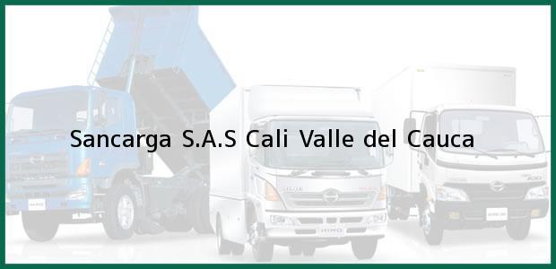 Teléfono, Dirección y otros datos de contacto para Sancarga S.A.S, Cali, Valle del Cauca, Colombia