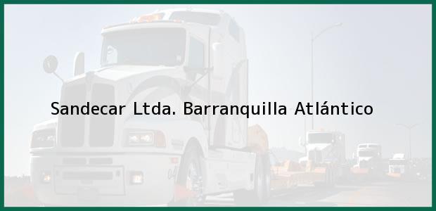 Teléfono, Dirección y otros datos de contacto para Sandecar Ltda., Barranquilla, Atlántico, Colombia