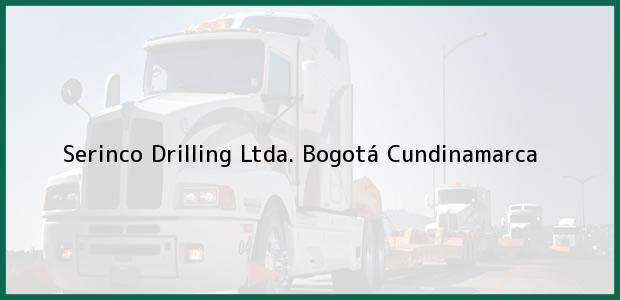 Teléfono, Dirección y otros datos de contacto para Serinco Drilling Ltda., Bogotá, Cundinamarca, Colombia