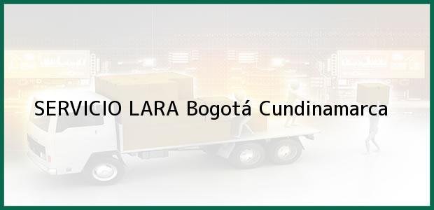 Teléfono, Dirección y otros datos de contacto para SERVICIO LARA, Bogotá, Cundinamarca, Colombia