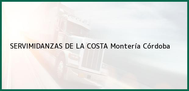 Teléfono, Dirección y otros datos de contacto para SERVIMIDANZAS DE LA COSTA, Montería, Córdoba, Colombia