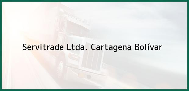 Teléfono, Dirección y otros datos de contacto para Servitrade Ltda., Cartagena, Bolívar, Colombia