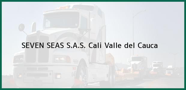 Teléfono, Dirección y otros datos de contacto para SEVEN SEAS S.A.S., Cali, Valle del Cauca, Colombia