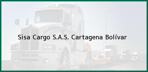 Teléfono, Dirección y otros datos de contacto para Sisa Cargo S.A.S., Cartagena, Bolívar, Colombia