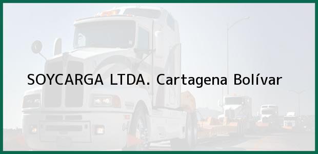 Teléfono, Dirección y otros datos de contacto para SOYCARGA LTDA., Cartagena, Bolívar, Colombia