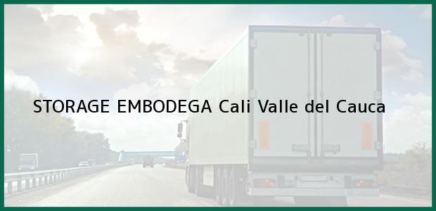 Teléfono, Dirección y otros datos de contacto para STORAGE EMBODEGA, Cali, Valle del Cauca, Colombia