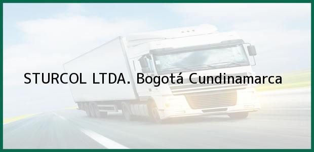 Teléfono, Dirección y otros datos de contacto para STURCOL LTDA., Bogotá, Cundinamarca, Colombia