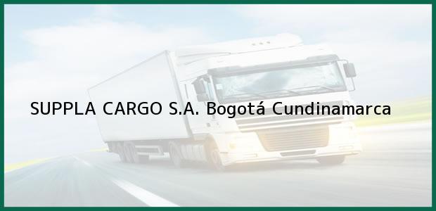 Teléfono, Dirección y otros datos de contacto para SUPPLA CARGO S.A., Bogotá, Cundinamarca, Colombia