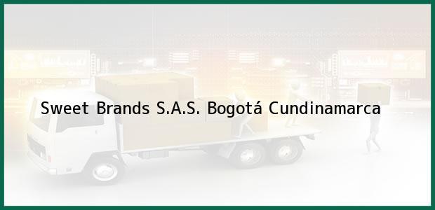 Teléfono, Dirección y otros datos de contacto para Sweet Brands S.A.S., Bogotá, Cundinamarca, Colombia