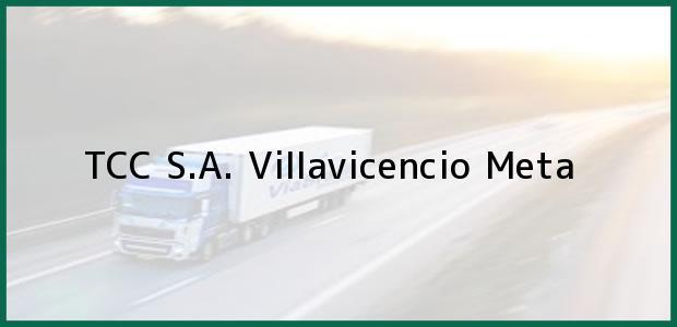 Teléfono, Dirección y otros datos de contacto para TCC S.A., Villavicencio, Meta, Colombia