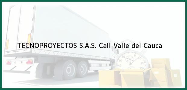 Teléfono, Dirección y otros datos de contacto para TECNOPROYECTOS S.A.S., Cali, Valle del Cauca, Colombia