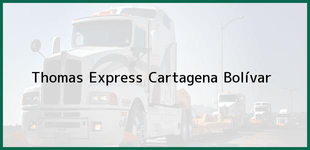 Teléfono, Dirección y otros datos de contacto para Thomas Express, Cartagena, Bolívar, Colombia