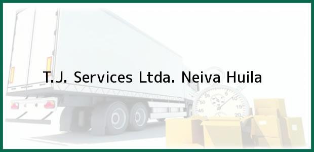 Teléfono, Dirección y otros datos de contacto para T.J. Services Ltda., Neiva, Huila, Colombia