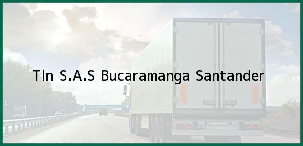 Teléfono, Dirección y otros datos de contacto para Tln S.A.S, Bucaramanga, Santander, Colombia