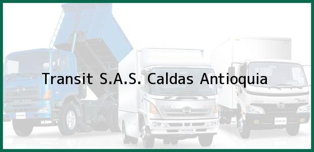 Teléfono, Dirección y otros datos de contacto para Transit S.A.S., Caldas, Antioquia, Colombia