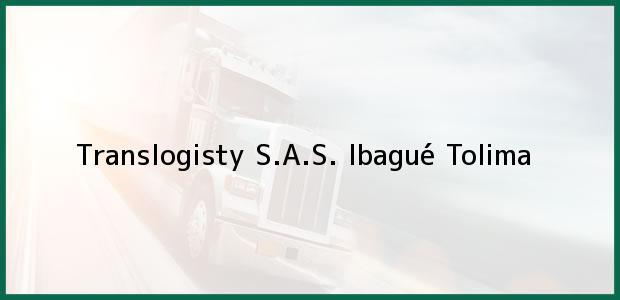 Teléfono, Dirección y otros datos de contacto para Translogisty S.A.S., Ibagué, Tolima, Colombia