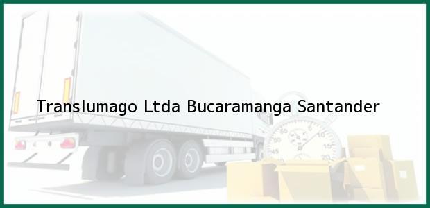 Teléfono, Dirección y otros datos de contacto para Translumago Ltda, Bucaramanga, Santander, Colombia