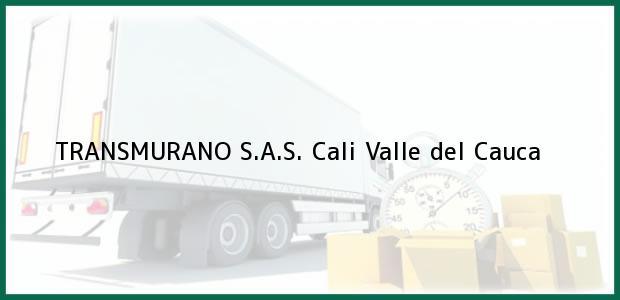Teléfono, Dirección y otros datos de contacto para TRANSMURANO S.A.S., Cali, Valle del Cauca, Colombia