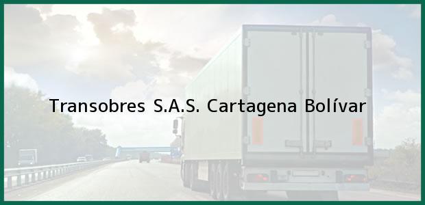 Teléfono, Dirección y otros datos de contacto para Transobres S.A.S., Cartagena, Bolívar, Colombia