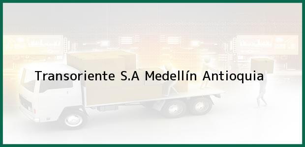 Teléfono, Dirección y otros datos de contacto para Transoriente S.A, Medellín, Antioquia, Colombia