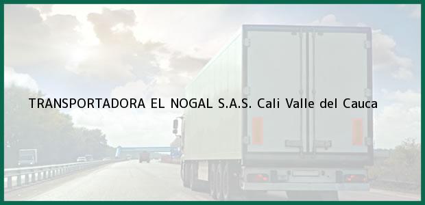 Teléfono, Dirección y otros datos de contacto para TRANSPORTADORA EL NOGAL S.A.S., Cali, Valle del Cauca, Colombia