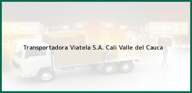 Teléfono, Dirección y otros datos de contacto para Transportadora Viatela S.A., Cali, Valle del Cauca, Colombia