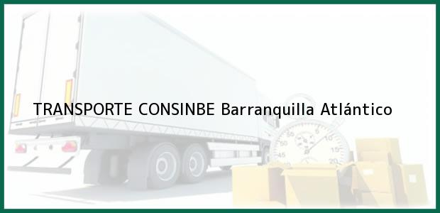 Teléfono, Dirección y otros datos de contacto para TRANSPORTE CONSINBE, Barranquilla, Atlántico, Colombia