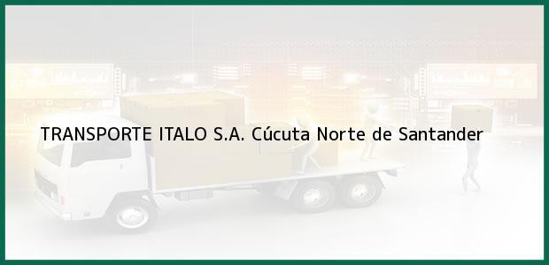 Teléfono, Dirección y otros datos de contacto para TRANSPORTE ITALO S.A., Cúcuta, Norte de Santander, Colombia
