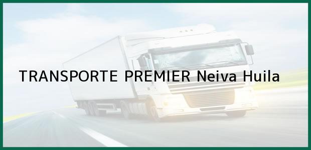 Teléfono, Dirección y otros datos de contacto para TRANSPORTE PREMIER, Neiva, Huila, Colombia